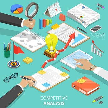 現状の分析、競合の分析